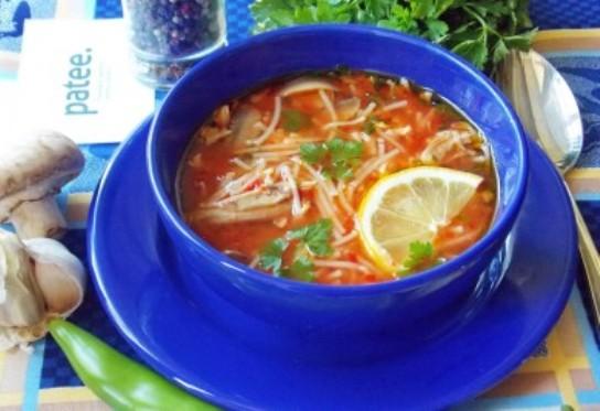 Турецкий суп Izmir Koefte