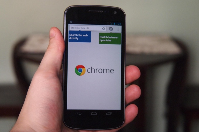 How to sync chrome with phone