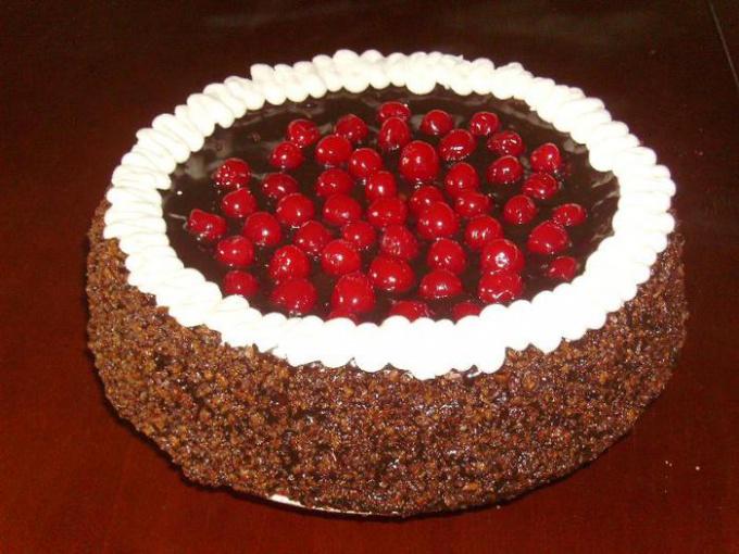 """Торт """"Вишневая радость"""""""