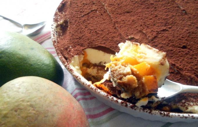 Семифрэдо с манго