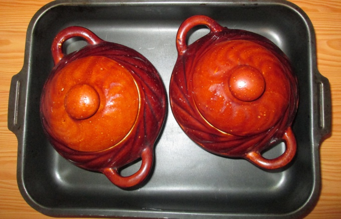 Волшебный горшочек:  баклажаны с грибами