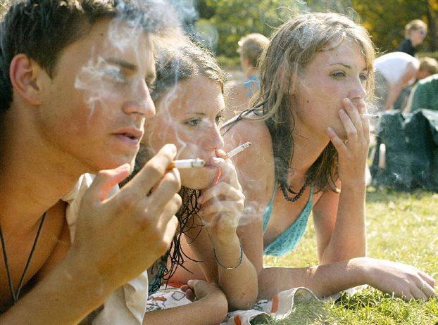 Причины подросткового курения