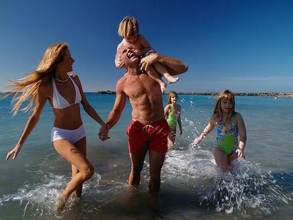 Отпуск с семьей