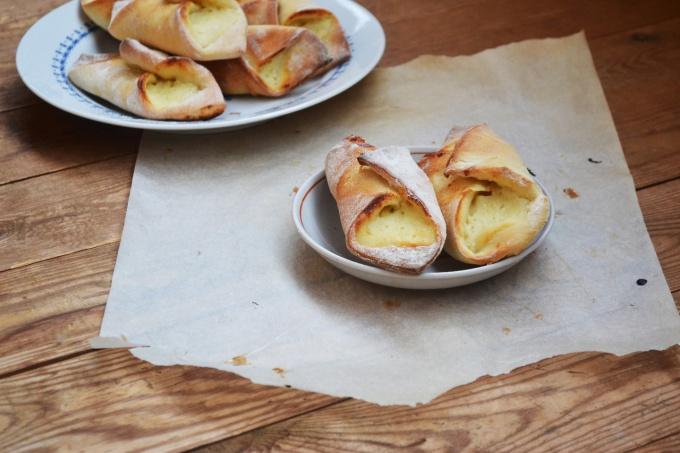 """Как приготовить """"Датские слойки"""" с творожной начинкой"""