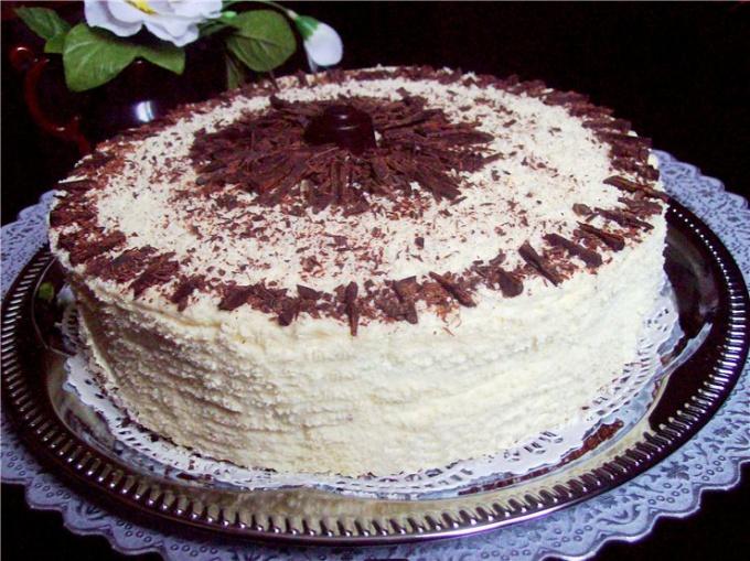 Как приготовить торт «Северное сияние»