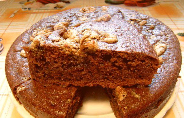 Десерт с халвой и сливками
