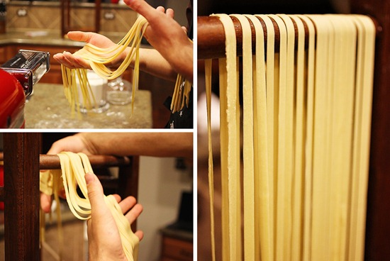how to cook homemade pasta