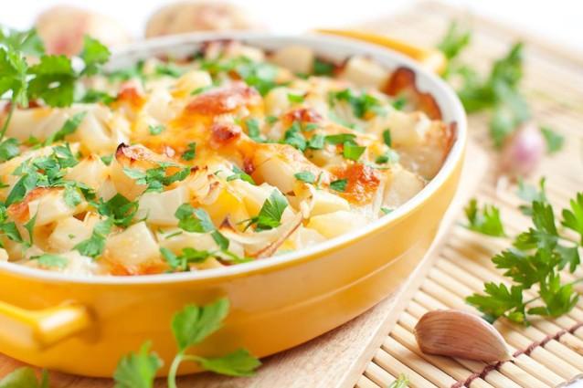 Как приготовить картофель с курицей и грибами: простой рецепт для духовки