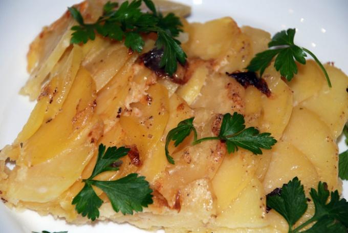 Картофель на французский манер