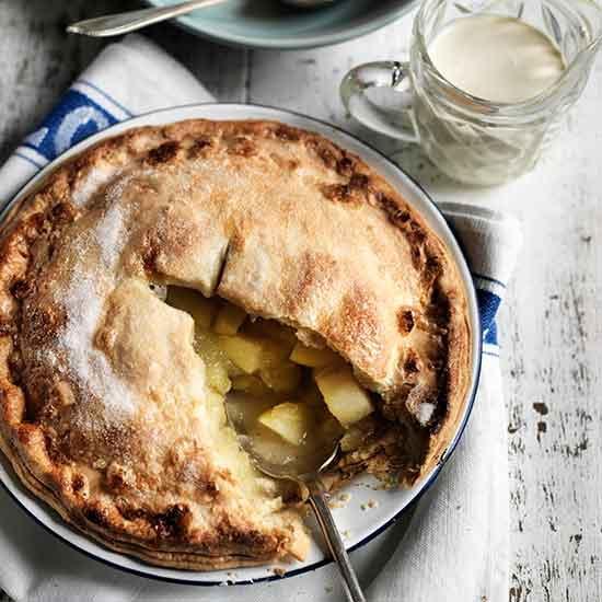 Как приготовить яблочный пирог-перевертыш с кукурузной мукой?