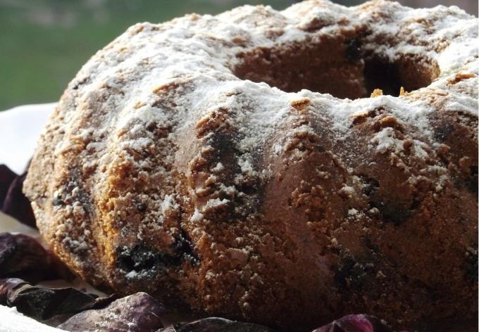 Готовим ореховый кекс
