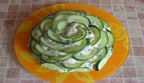 Готовим малахитовый салат