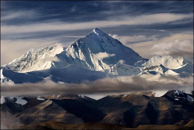 Какая горная вершина самая высокая в мире