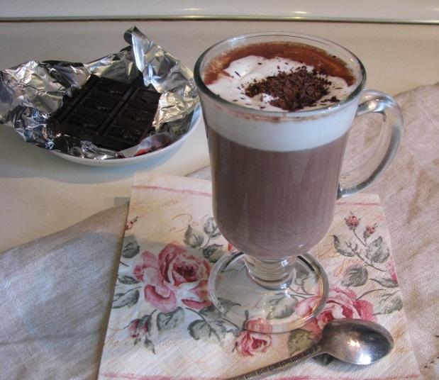Горячий французский шоколад