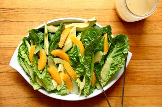 Как приготовить салат из авокадо с апельсинами?