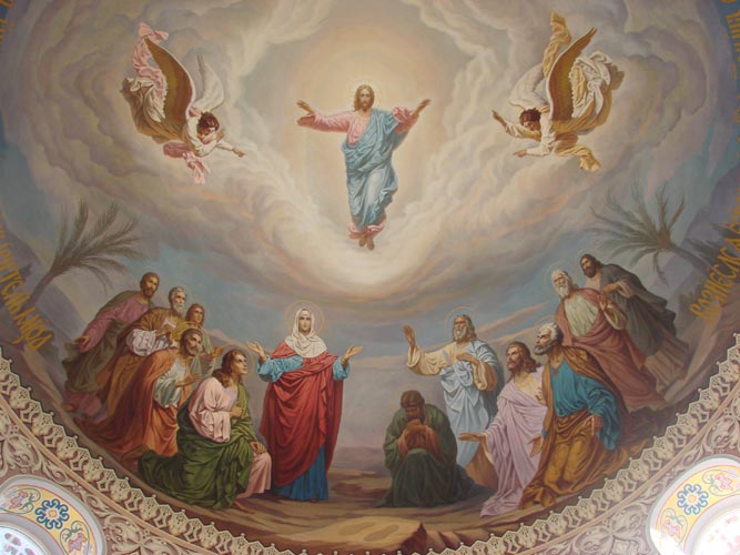 When Christianity celebrates the Ascension of Christ