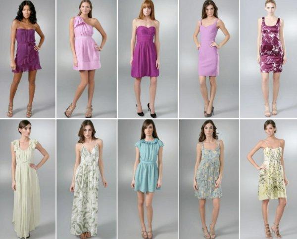 Модели платьев для лета 2014
