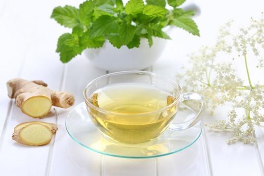 Готовим чай из имбиря