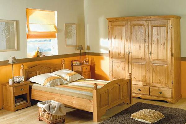 Преимущества мебели из сосны