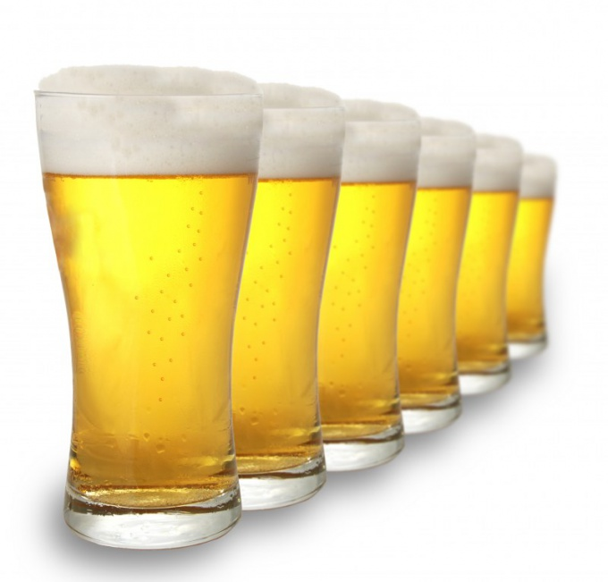 How beer affects the male body