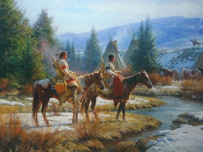 Американский континент был заселен более 30 тыс. лет назад