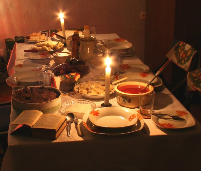 Memorial meal - it is customary for all Orthodox Christians.