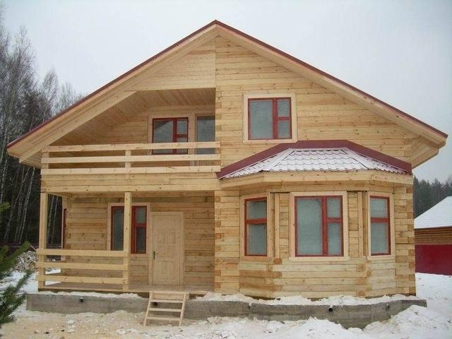 Деревянный дом - масса достоинств