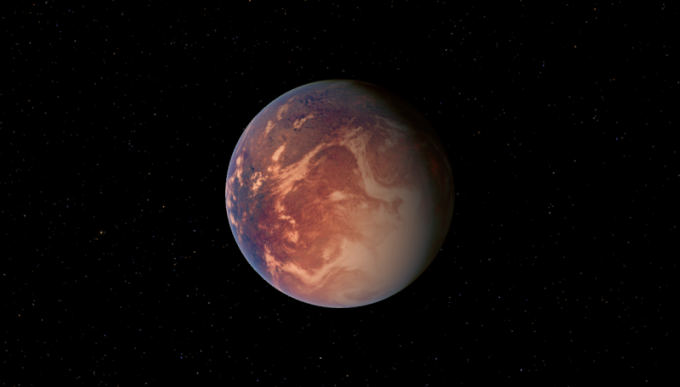 Планета Gliese 581c