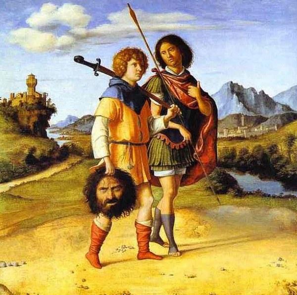 Чима да Конельяно «Давид и Ионафан»