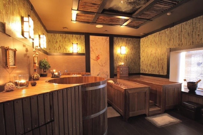 Лечебные свойства японской бани