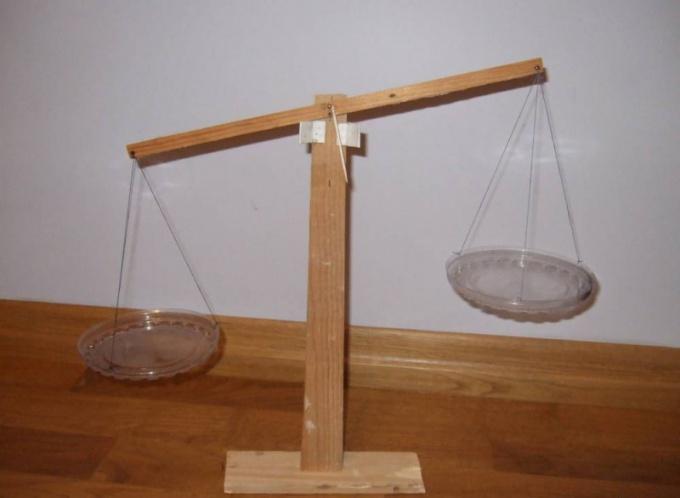 Как сделать весы в домашних условиях