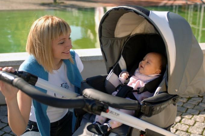 Как правильно гулять с новорожденным?