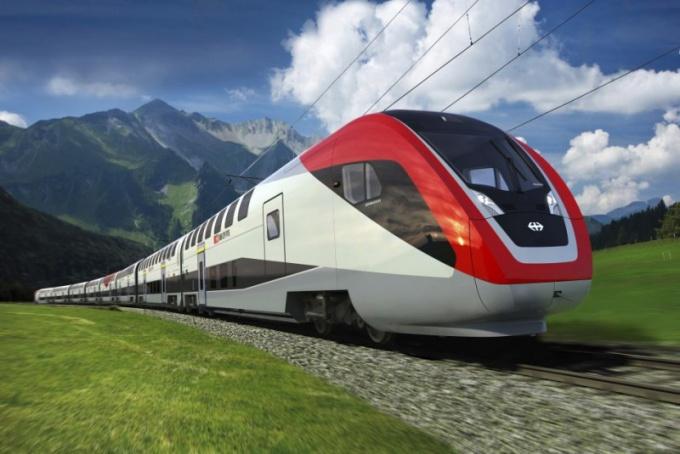 Поезд Москва - Рим