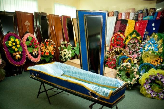Как выбрать гроб