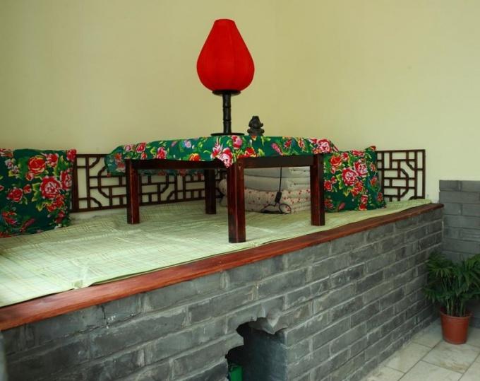 Китайская печь кан
