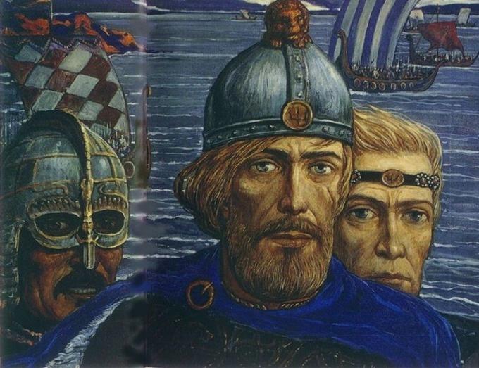 Рюрик в представлении художника И.Глазунова