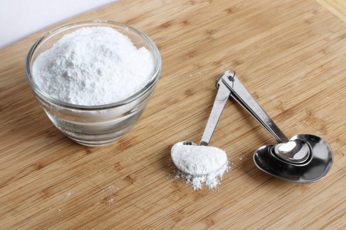 Сахарная пудра - привычный ингредиент в выпечке