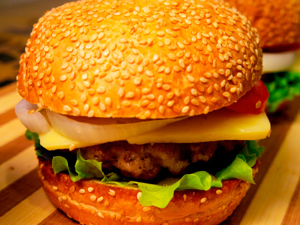 Сделать домашний гамбургер