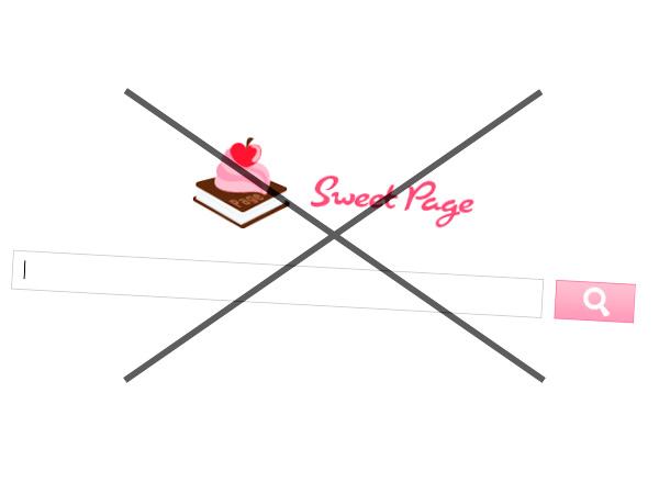 Удалить Sweet Page