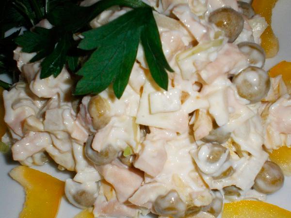 Приготовить кальмары в сметане по-простому