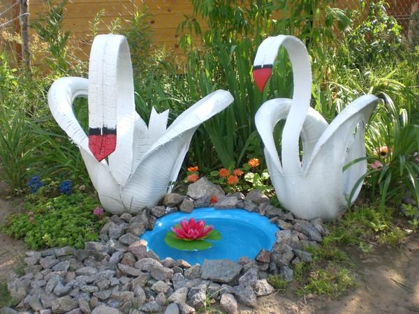 Лебедь поделка своими руками