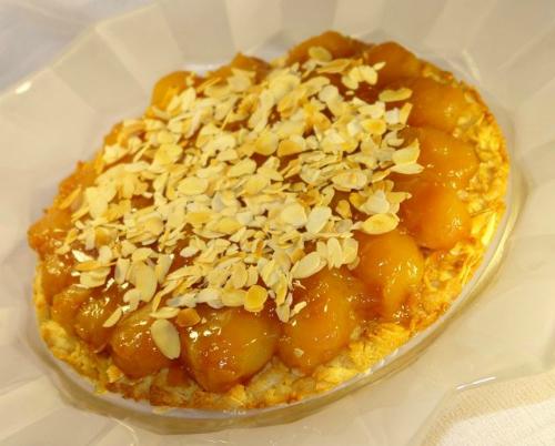 Грушевый пирог с  ванилью и апельсином