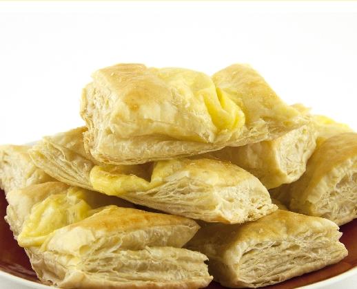 слойки с творожно-лимонной начинкой