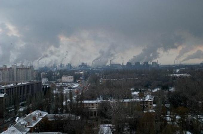 Выбросы промышленных отходов в атмосферу