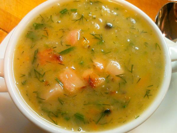 Приготовить густой гороховый суп