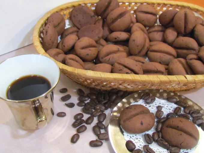 Как приготовить печенье «Кофейные зерна»