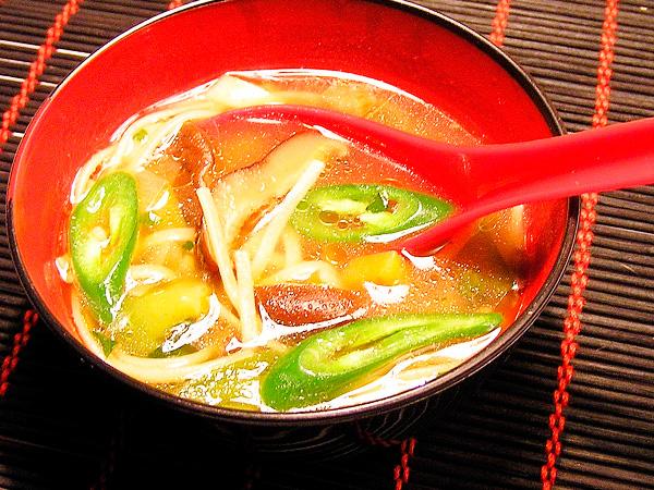 Приготовить суп с грибами шиитаке