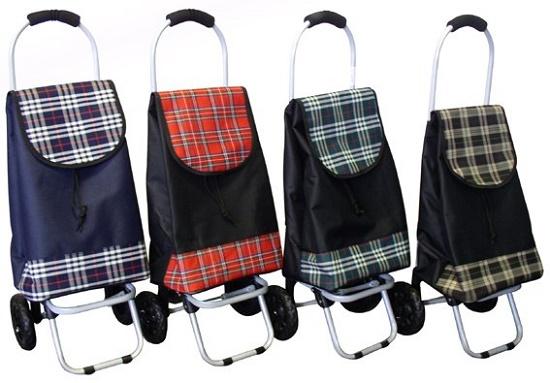 Удобная сумка-тележка