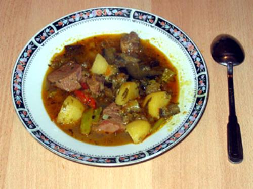 Овощное рагу по-грузински