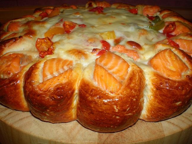 Как приготовить пирог с форелью